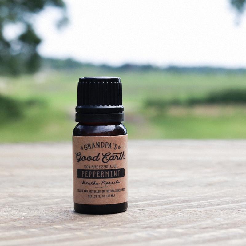 10 ml Peppermint Essential Oil | GrandpasGoodEarth.com
